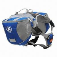 Wholesale Mesh Dog Backpack with Two Functions, Safety Harness and Dog Backpack as One Item from china suppliers
