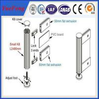 Buy cheap exhibition booth fair display stand aluminum profiles design from wholesalers