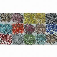 Buy cheap Hot-fix Rhinestones, Available from SS4 to SS34, Different Colors are Available from wholesalers