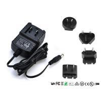 Buy cheap EN60065 EN60950 Interchangeable Power Adapter Detachable Plug 9V 0.5A 1A 1000mA product