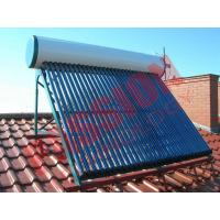 Buy cheap Roof Flat Solar Water Heater , Copper Pipe Solar Water Heater For Washing from wholesalers