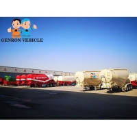 Buy cheap ISO Dry Goods Multi Axle 40ft 50ton Semi Trailer Concrete Truck from wholesalers