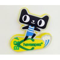 Buy cheap Funny Cat Silicone Fridge Magnet,Multi Colored Fridge Magnet For Home Decoration from wholesalers
