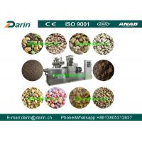 Wholesale Automatic Dog Pet Food Extruder Machine / Pet Food Processing Line from china suppliers