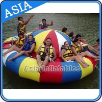 Buy cheap Fireproof 3m Inflatable Disco Boat With 8 Seats Pvc Inflatable Water Games from wholesalers