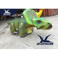 Buy cheap City Square Realistic Dinosaur Models / Stuffed Animal Ride On Toys from wholesalers