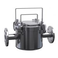 SS304/SS316L JTGCX Magnetic Fluid Filter Sanitary Filter Housing for Ice cream, Milk Filtering Manufactures