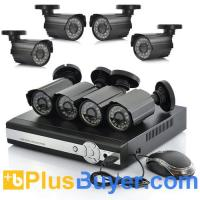 Buy cheap 8 Channel DVR Surveillance System - PAL (8 CCTV Cameras, H.264, Network) from wholesalers