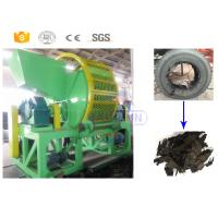 Buy cheap High capacity used truck tyre cutting shredder machine for sale with CE from wholesalers