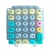 Buy cheap OEM Compression Mould Silicone Rubber Keypads from wholesalers