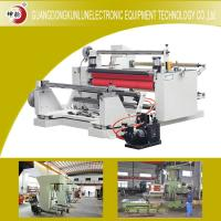 Wholesale 2350 * 2000 * 1550 High Speed Slitting Rewinding Machine For Adhesive Label from china suppliers