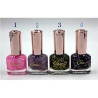 Buy cheap Private Label Customized Nail Polish , Women Gel Nail Polish 14ml from wholesalers