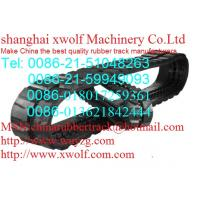 Buy cheap Hitachi excavator rubber track rubber block rubber sheet from wholesalers