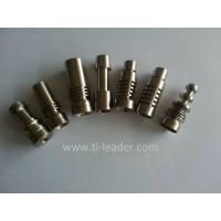 Buy cheap Gr2 High Quality Domeless Titanium Nail for Smoking from wholesalers