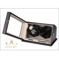 Buy cheap Velvet Liner Watch Box Automatic Winder , LED Light Battery Powered Watch Winder Boxes from wholesalers
