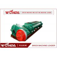 Buy cheap Automatic Steel Double Shaft Mixer , Clay Brick Mixer 55 KW Wear Resistant from wholesalers