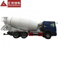 Buy cheap Mobile 6X4 Sinotruk Howo Truck Mounted 10cbm Cement Mixer Truck For Sale from wholesalers