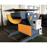 Buy cheap 2T Capacity Welding Positioner With 1200mm Square Table / Tilting Speed Digital Readout from wholesalers
