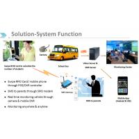 Buy cheap GPS positioning and 3G/4G school bus security management system Real time SMS smart phone tracking from wholesalers