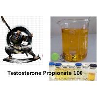 Quality Injectable Anabolic Steroids Testosterone Propionate 100mg/ml For Bodybuilding Semi Finishied for sale