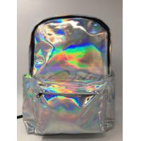 Wholesale Customized Logo Laptop Messenger Bags Laser PU Hologram Backpack PU Material from china suppliers