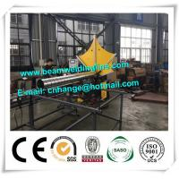 China HVAC Spiral Duct Forming Machine , Wind Tower Production Equipment For HVAC PIpe Make on sale