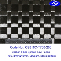 Wholesale Fatigue Resistance 200gsm 8mm&16mm Interval Spread Tow Fabric from china suppliers