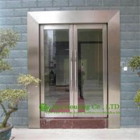 Buy cheap Shopping Mall  Stainless Steel Glass Door,Flush Stainless Steel Doors &Frames With Glass from wholesalers
