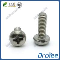 China Metric Pan Head Machine Screws, Philips Drive, Stainless Steel on sale