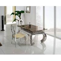 Buy cheap Hot Sales Modern Metal Glass Dining Table from wholesalers