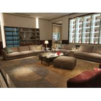 Buy cheap Contemporary High End Design Wide Seat European Leather Sofa from wholesalers