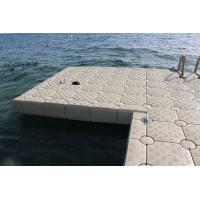 Buy cheap High Durability Plastic Floating Dock Cubes , HDPE Floating Pontoon Bridge from wholesalers