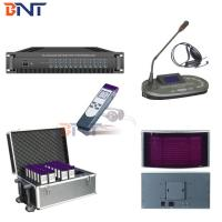 Buy cheap Infrared Simultaneous Interpreter System , Conference Translation Equipment from wholesalers