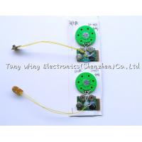 Push Button recordable sound chips For Birthday Greeting Card Manufactures