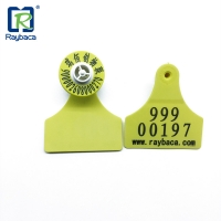 Buy cheap Low Frequency Rfid Livestock Tags For Cattle Cow Identifications from wholesalers