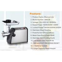 Buy cheap Convenient and practical multi-function home electric stainless steel meat grinder Mincer from wholesalers