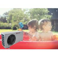 China Meeting Small Air To Water Heat Pump High Temperature Pool Machine Swimming Pool Heater 220V / 50Hz on sale