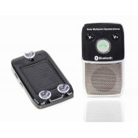 Buy cheap Bluetooth speakerphone hands free car kit with solar power from wholesalers