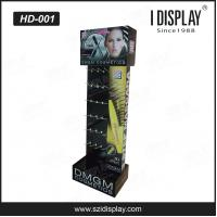 Buy cheap HD-001 fashion cardboard hanging floor display stand for cosmetic products from wholesalers