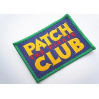 Buy cheap Handmade Custom Clothing Patches Embroidered Brand Logo Patch from wholesalers