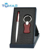 Buy cheap hot selling promotion metal and wooden pen gift set from wholesalers