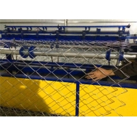 Buy cheap ISO SGS 4.5KW 25*25mm 150*150mm Chain Link Fencing Machine from wholesalers