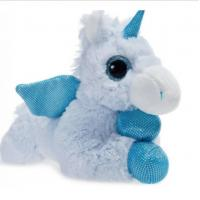 Buy cheap WILDREAM 11 Inch Blue Unicorn Stuffed Animals With Big Eyes And Wings from wholesalers