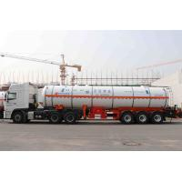 Wholesale Liquefied Gas Semi-trailer / Gas Tanker Truck Capacity 39500L / 3 Axles from china suppliers