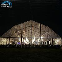 Buy cheap Transparent Modern Polygon Tent Flame Restardant Cover Long Service Life from wholesalers