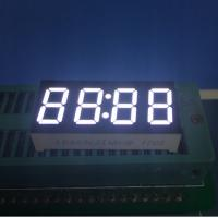 Buy cheap 4 Digit Common Anode 7 Segment Display for microwave clock timer 30 X 14 X 7.2 mm from wholesalers
