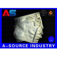 Buy cheap 10 * 15 CM Aluminum Foil Bags Silver Color For Oral Tablets Packaging from wholesalers