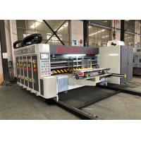 Buy cheap Full Automatic Flexo Printing Machine For Corrugated Carton CE Certificate from wholesalers