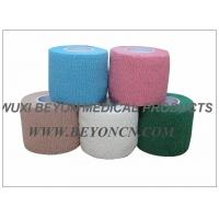 Cotton Cohesive Bandage For Surgical use in Hospital Stretch MAX Compression Manufactures