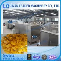 In Store Breakfast cereals making machine,Corn flakes food processing machinery Manufactures